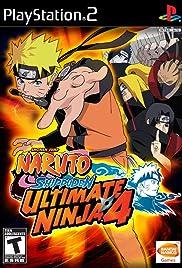 Naruto Shippûden: Ultimate Ninja 4 Poster
