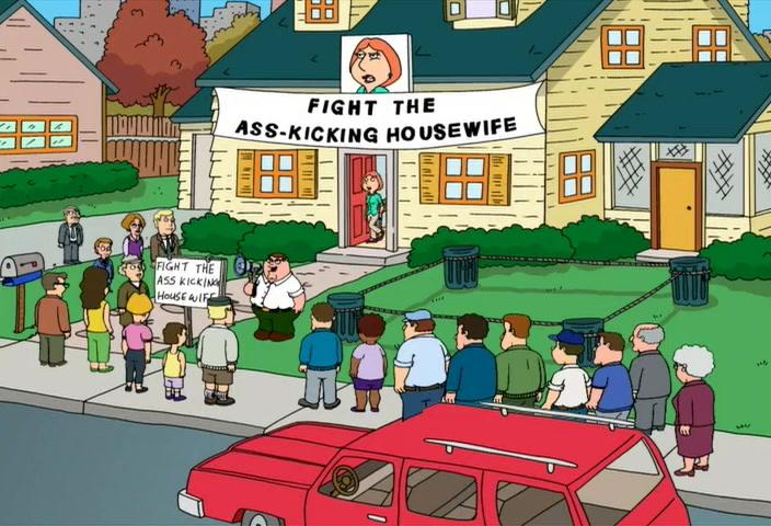 Alex Borstein and Seth MacFarlane in Family Guy (1999)