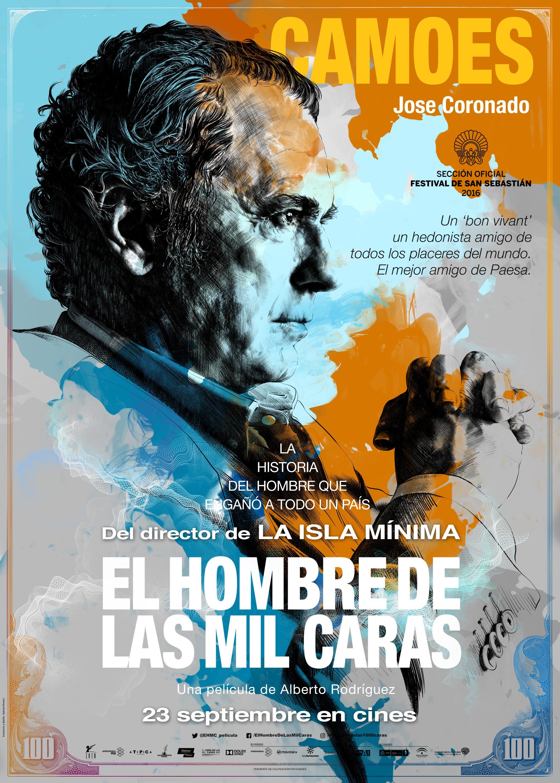 Jose Coronado in El hombre de las mil caras (2016)