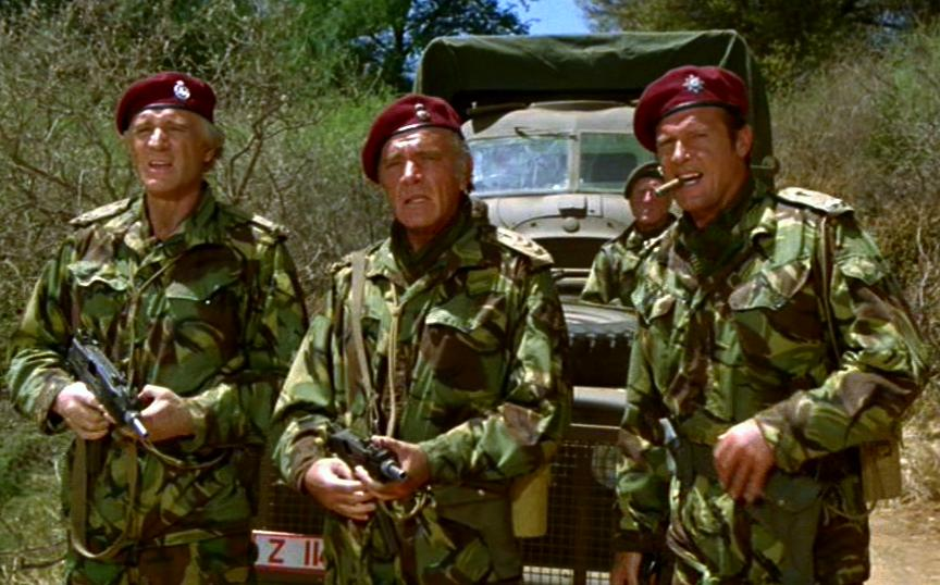 Image result for roger moore in the wild geese