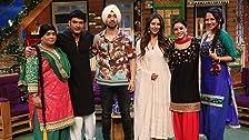 Diljit and Sonam in Kapil's Show