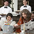 Lily Tomlin, Lindsey Kraft, and Baron Vaughn in Grace and Frankie (2015)