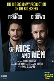 James Franco and Chris O'Dowd in National Theatre Live: Of Mice and Men (2014)