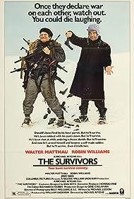 Robin Williams and Walter Matthau in The Survivors (1983)