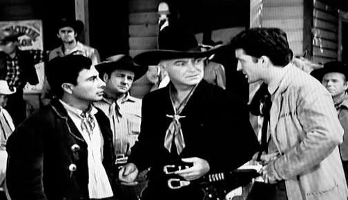 William Boyd, Robert Knapp, and Victor Millan in Hopalong Cassidy (1952)