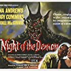 Dana Andrews and Peggy Cummins in Night of the Demon (1957)
