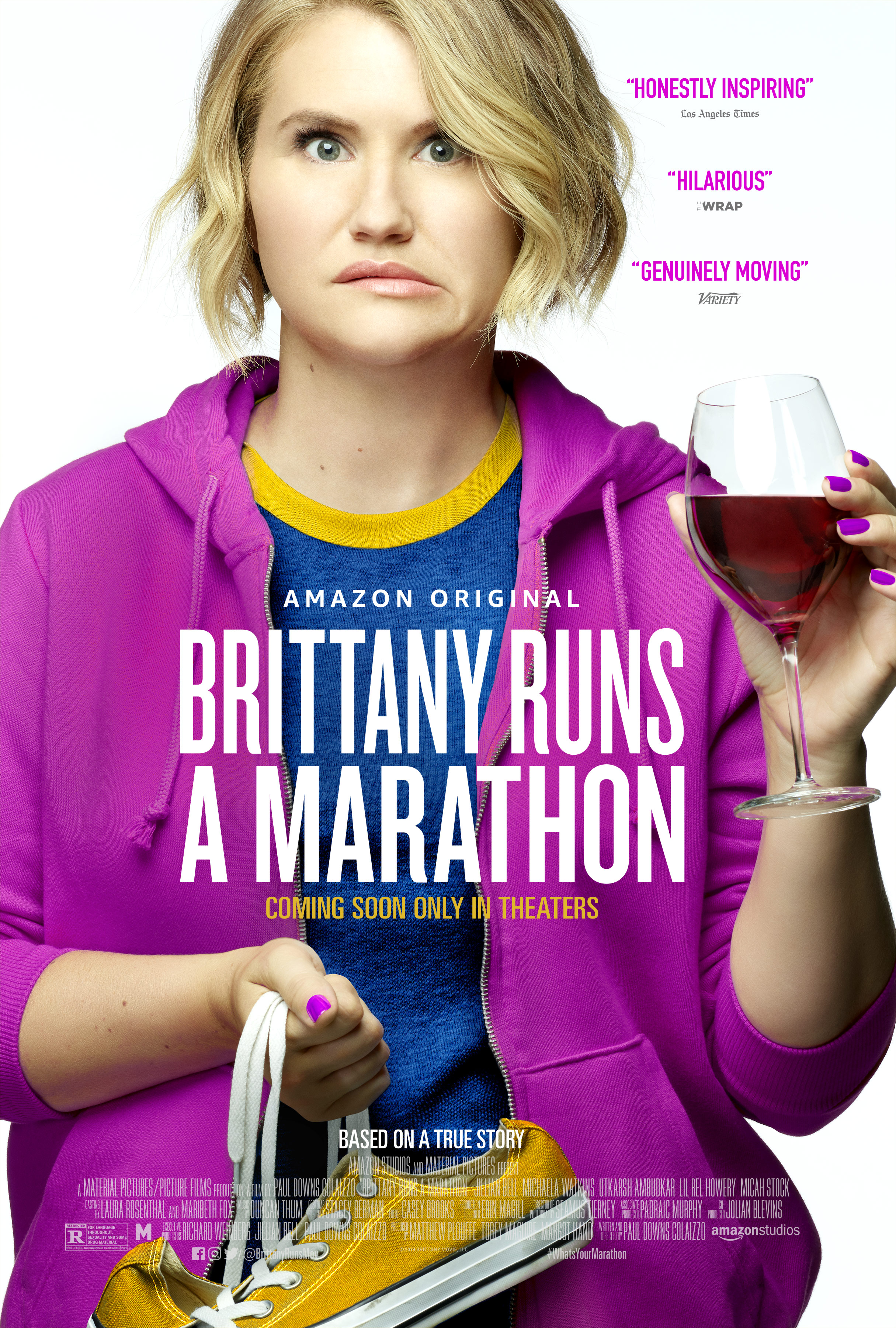 Image result for Brittany runs a marathon