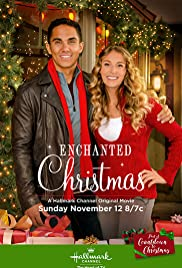 enchanted christmas poster