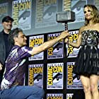 Natalie Portman, Taika Waititi, and Kevin Feige at an event for Thor: Love and Thunder (2022)