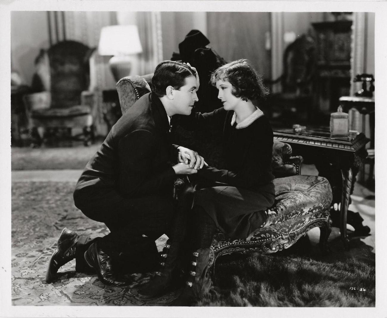 Richard Barthelmess and Marian Nixon in Young Nowheres (1929)
