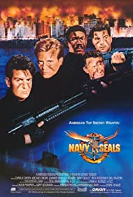 Charlie Sheen, Michael Biehn, Rick Rossovich, Paul Sanchez, and Cyril O'Reilly in Navy Seals (1990)