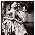 Lisa Daniels and Debra Paget in The Gambler from Natchez (1954)