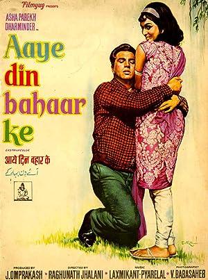Aaye Din Bahar Ke movie, song and  lyrics