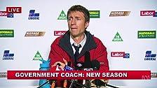 Entrenador del gobierno - Nueva temporada