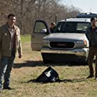 Matthew Modine, Swen Temmel, and Sergio Rizzuto in Backtrace (2018)
