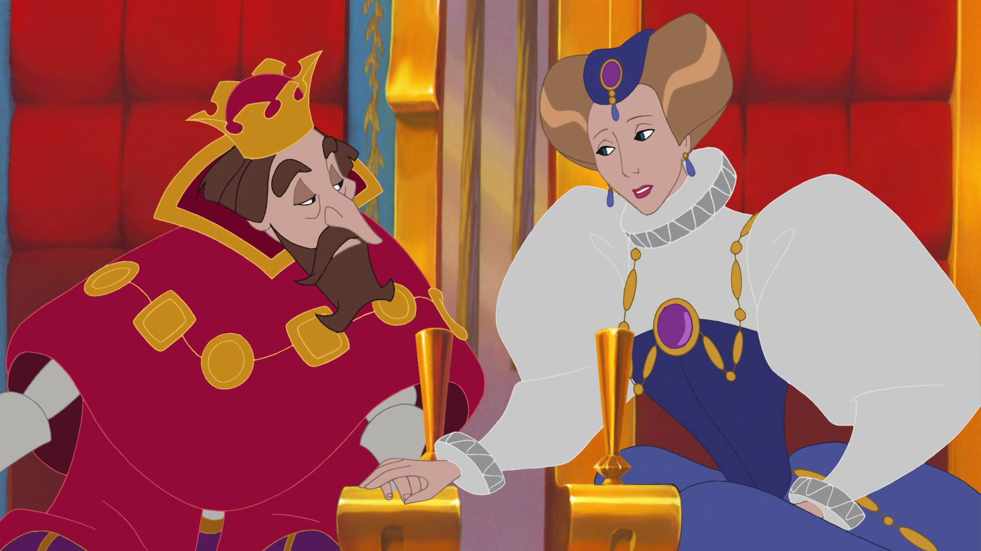 Картинки из мультфильмов король