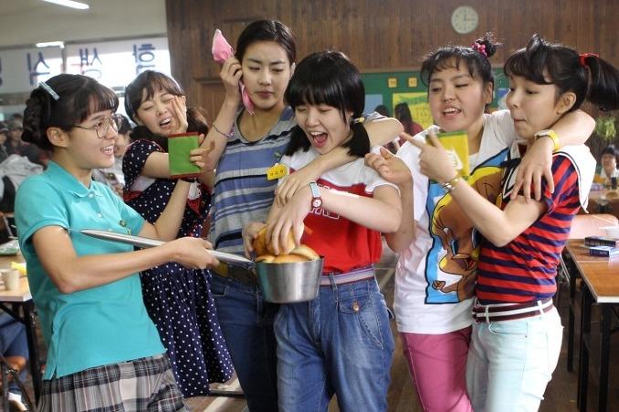Cuplikan layar dari Film Korea Sunny