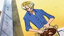 Honoo no Ryouri Battle? Sanji VS Bijin Chef