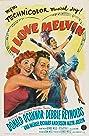 I Love Melvin (1953) Poster