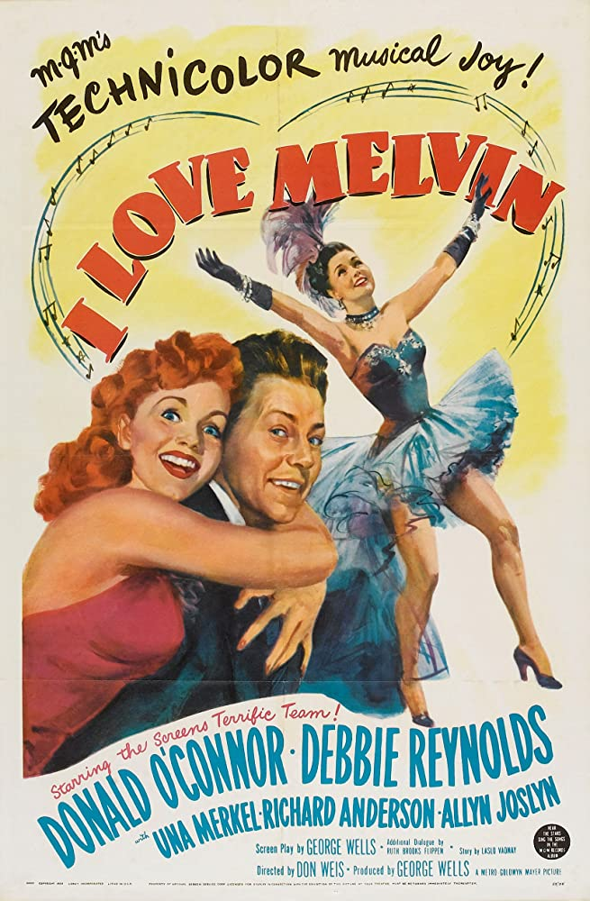 Debbie Reynolds and Donald O'Connor in I Love Melvin (1953)