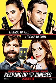 Keeping Up with the Joneses Free movie online at 123movies