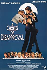 Anthony Hopkins, Jeremy Irons, Patsy Kensit, Richard Briers, Barbara Ferris, Gareth Hunt, Lionel Jeffries, Pete Lee-Wilson, and Alexandra Pigg in A Chorus of Disapproval (1989)