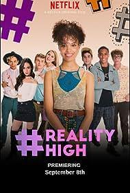 Anne Winters, Jake Borelli, Peter Gilroy, Alicia Sanz, Patrick Davis Alarcón, Michael Provost, Nesta Cooper, Keith Powers, and Ryan Malaty in #Realityhigh (2017)