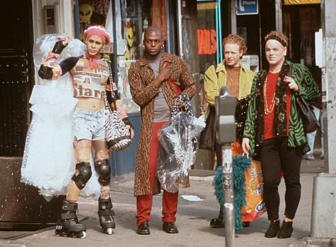 Philip Seymour Hoffman, Nashom Wooden, Scott Allen Cooper, and Wilson Jermaine Heredia in Flawless (1999)