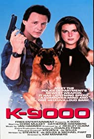 Catherine Oxenberg and Chris Mulkey in K-9000 (1990)