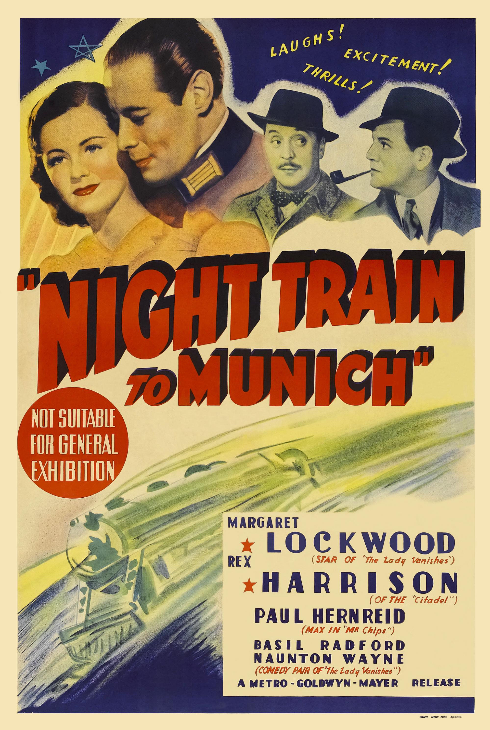Night Train To Munich 1940