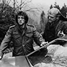 Sylvester Stallone and Brian Dennehy in First Blood (1982)