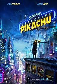 Ryan Reynolds and Justice Smith in Pokémon: Detective Pikachu (2019)
