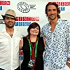"""George Katt, Kim Cummings and Lukas Hassel attend the NYC Premiere of """"In Montauk"""" at Tribeca Film Festival's Vision Fest 12   Tribeca Cinemas"""