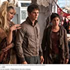Jenny Gabrielle, Dylan O'Brien, and Rosa Salazar in Maze Runner: The Scorch Trials (2015)