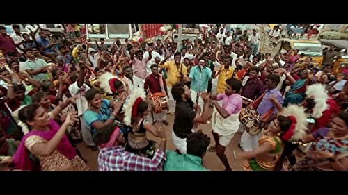 Devarattam is a Tamil movie starring Gautham Karthik in a prominent role. It is a drama directed by M. Muthaiah, forming part of the crew.