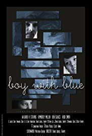 Boy with Blue Poster