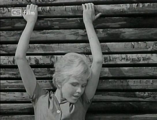 Radka Dulíková in Vysoká zed (1964)