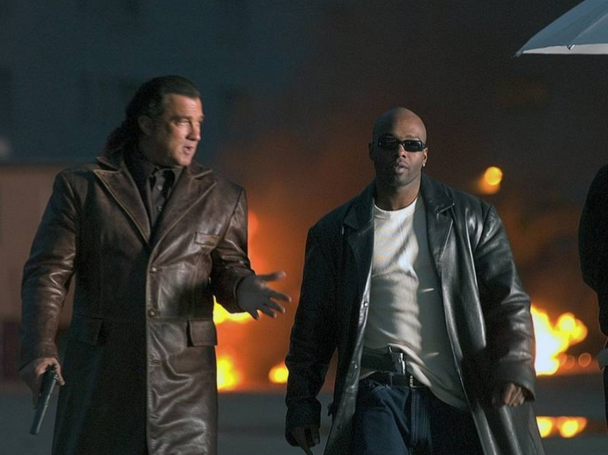 Steven Seagal and Anthony 'Treach' Criss in Today You Die (2005)