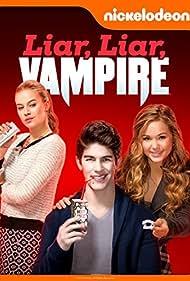 Tiera Skovbye, Rahart Adams, and Brec Bassinger in Liar, Liar, Vampire (2015)