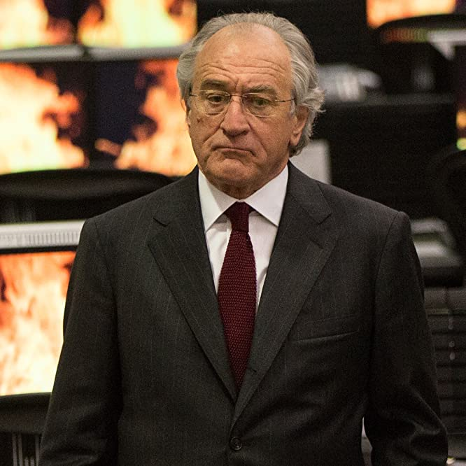 Robert De Niro in The Wizard of Lies (2017)