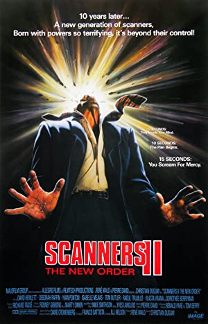 Where to stream Scanners II: The New Order