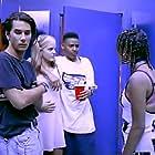 James Duval, Mena Suvari, Joshua Gibran Mayweather, and Rachel True in Nowhere (1997)