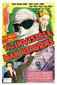 Nan Grey and Cedric Hardwicke in The Invisible Man Returns (1940)