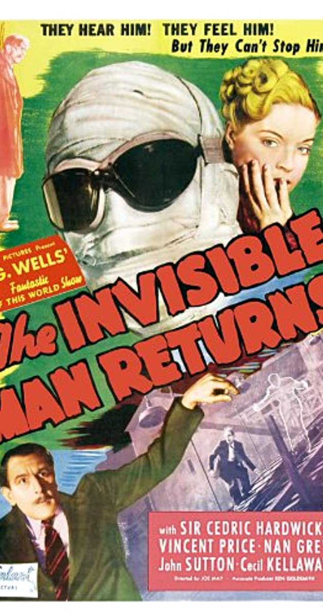 Subtitle of The Invisible Man Returns