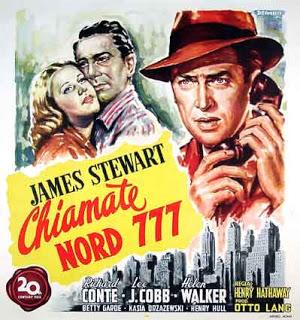 James Stewart, Richard Conte, and Helen Walker in Call Northside 777 (1948)