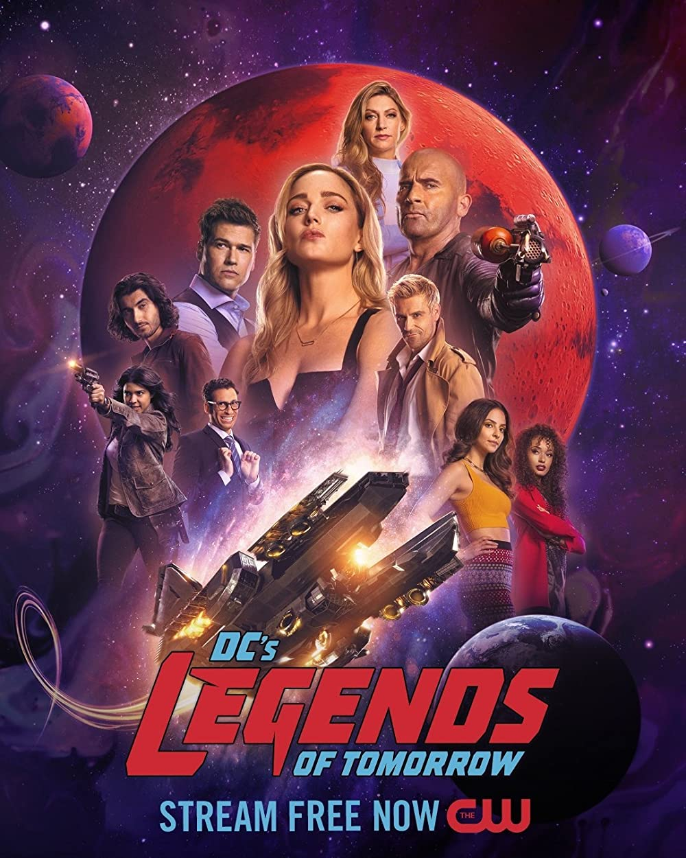 DC's Legends of Tomorrow (2016) S02 English Action Sci-Fi WEB Series 480p || 720p