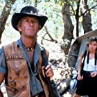 Paul Hogan and Linda Kozlowski in Crocodile Dundee (1986)