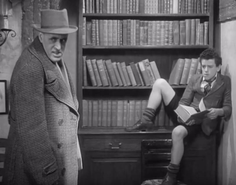 George Cole and Alastair Sim in Cottage to Let (1941)