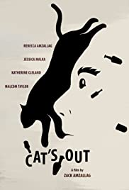 Cat's Out Poster