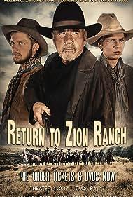 Bob Weber, Ephraim Strain, and Gideon Valimont in Return to Zion Ranch (2017)